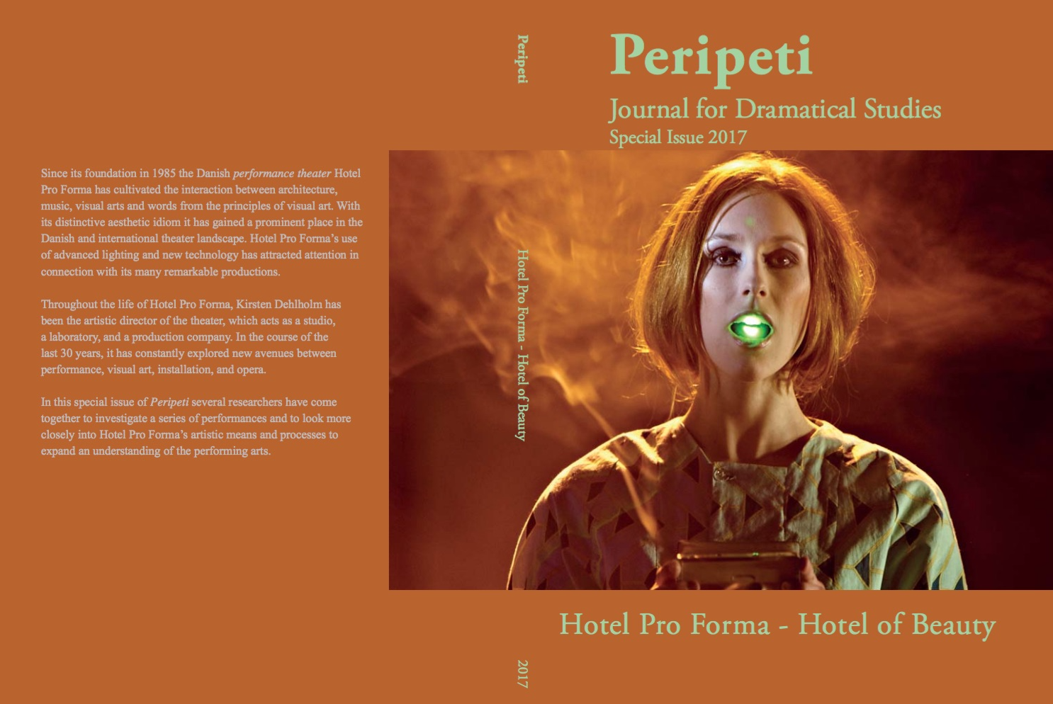 Se Årg. 14 Nr. 26.5 (2017): Hotel Pro Forma - Hotel of Beauty. A Laboratory for Performing Arts