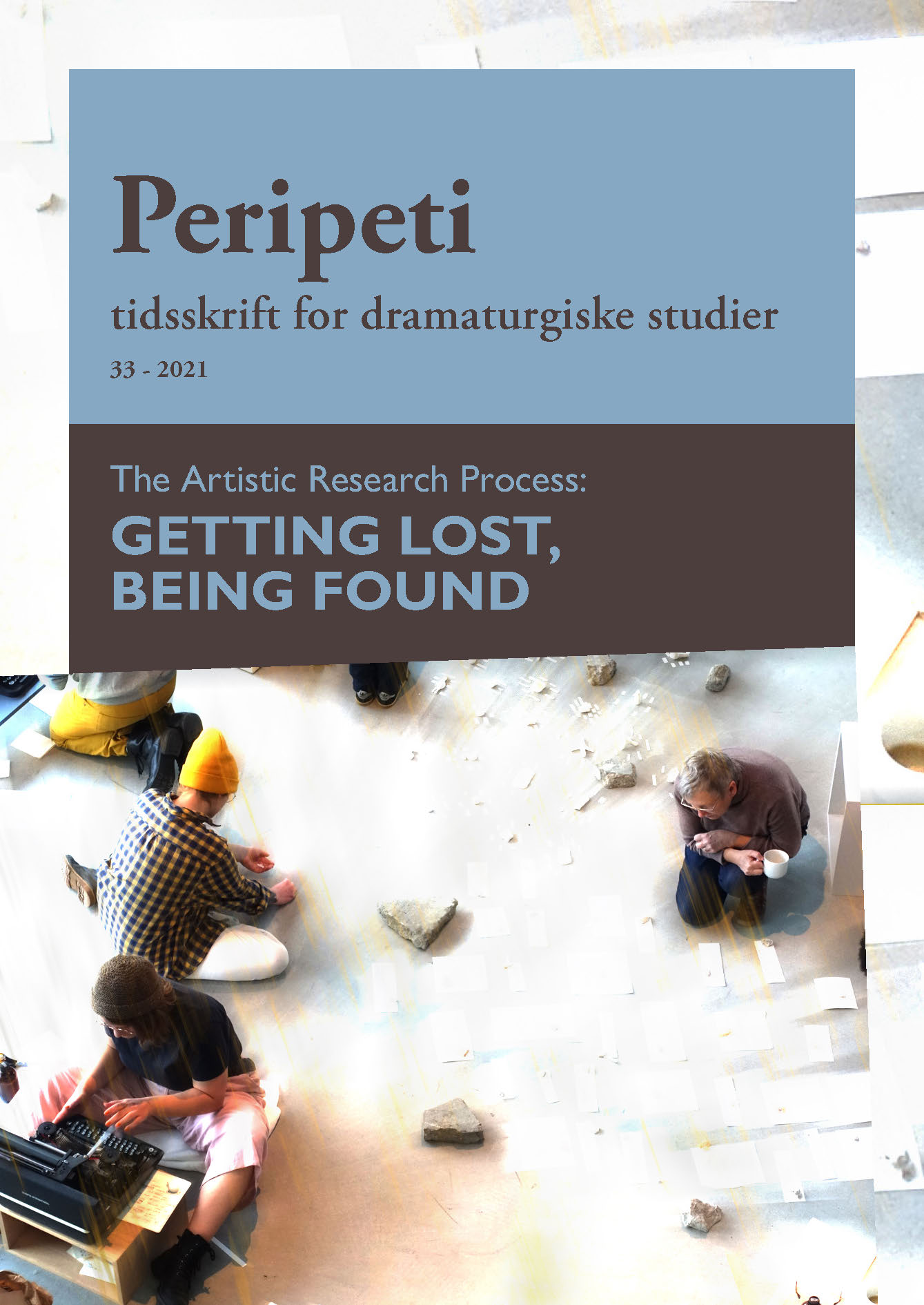 The Artistic Research Process: Getting Lost, Being Found