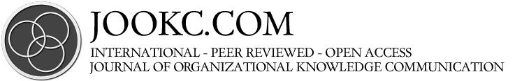 Journal of Organizational Knowledge Communication