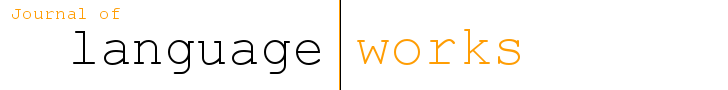 View Vol. 4 No. 1 (2019): Language Works 4(1)
