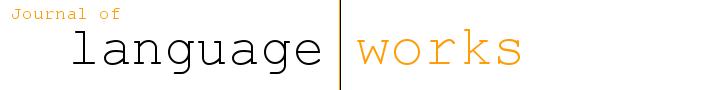 View Vol. 5 No. 1 (2020): Language Works 5(1)