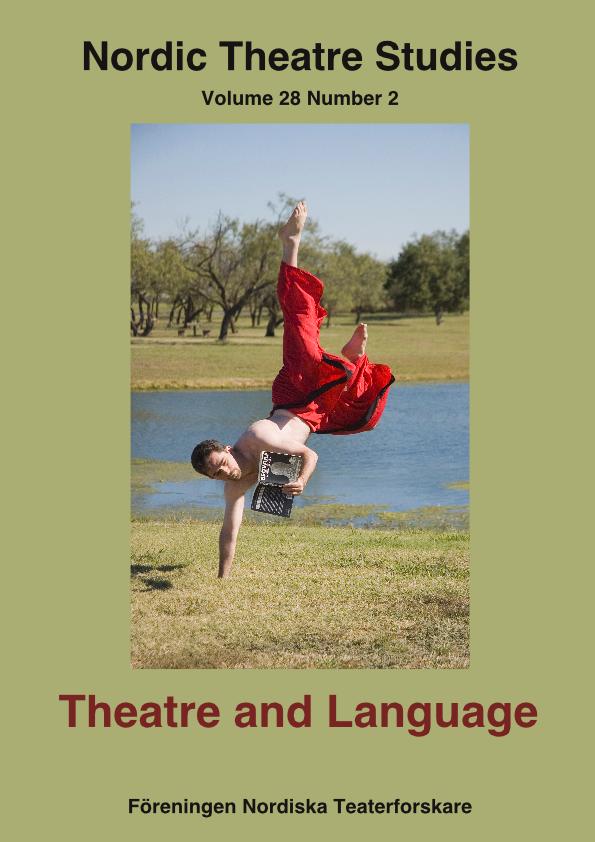 View Vol. 28 No. 2 (2017): Theatre and Language