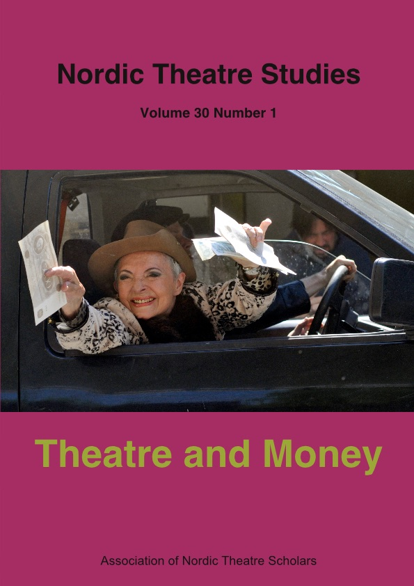 View Vol. 30 No. 1 (2018): Theatre and Money
