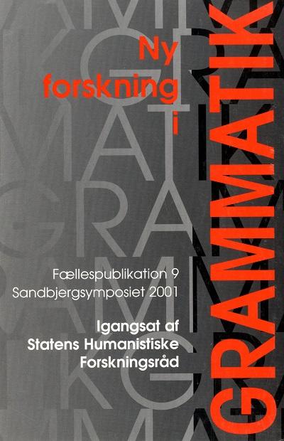Se Nr. 9 (2002): Sandbjergsymposiet 2001