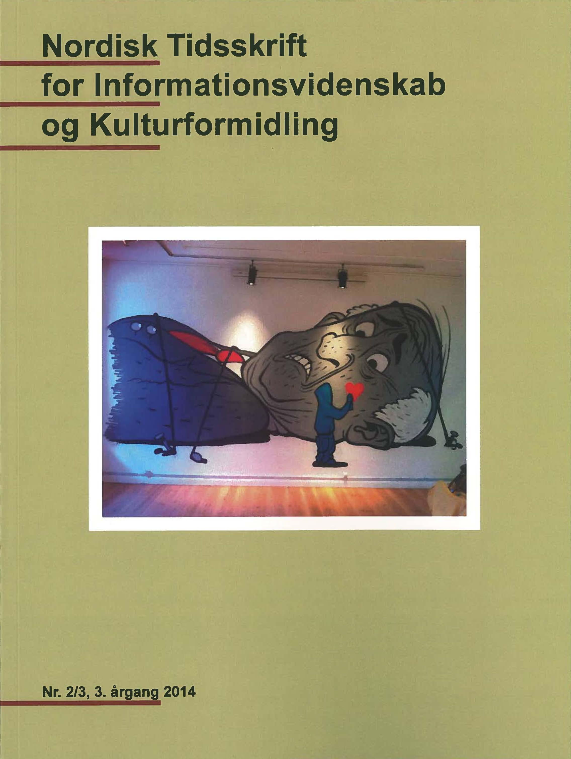 Se Årg. 3 Nr. 2-3 (2014): NTIK, Tema: Privatliv og Overvågning