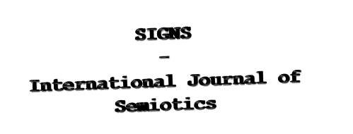 Signs - International Journal of Semiotics