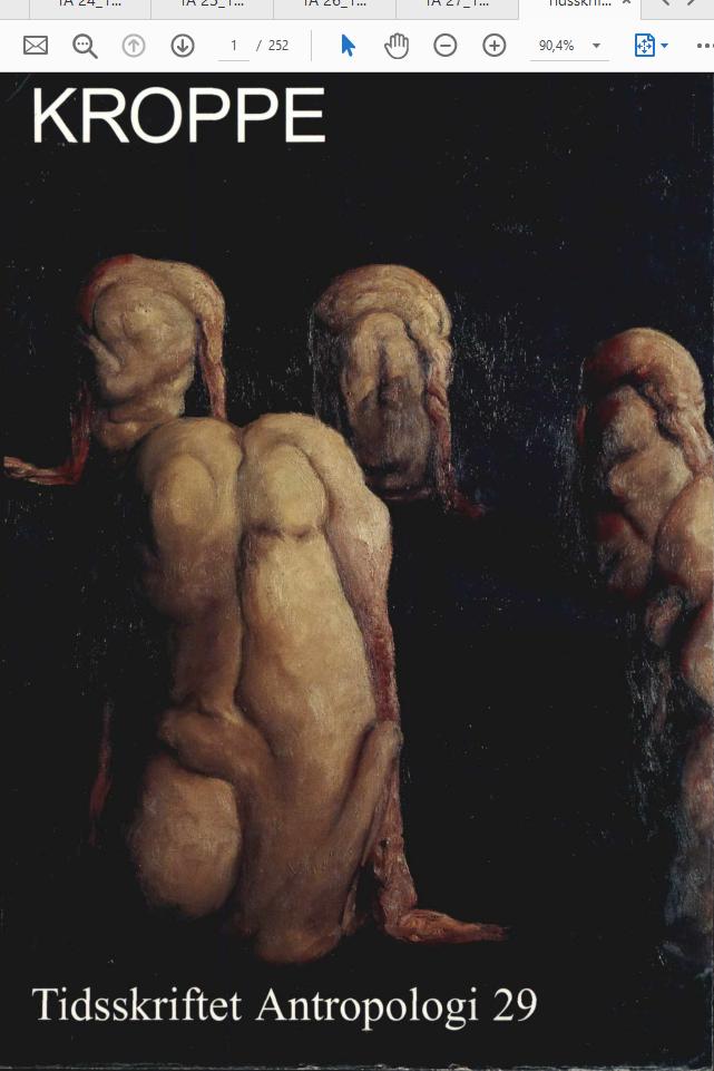 Se Nr. 29 (1994): Kroppe
