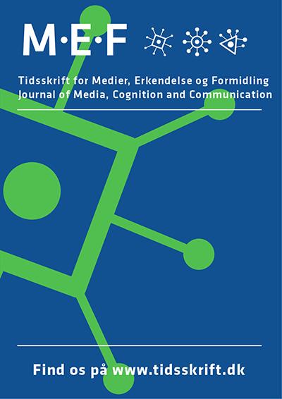 Tidsskrift for Medier, Erkendelse og Formidling