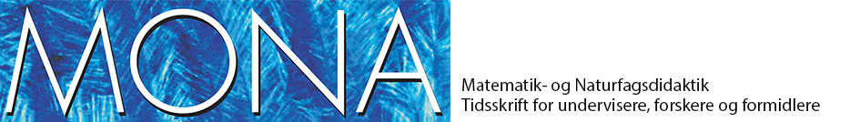 MONA - Matematik- og Naturfagsdidaktik