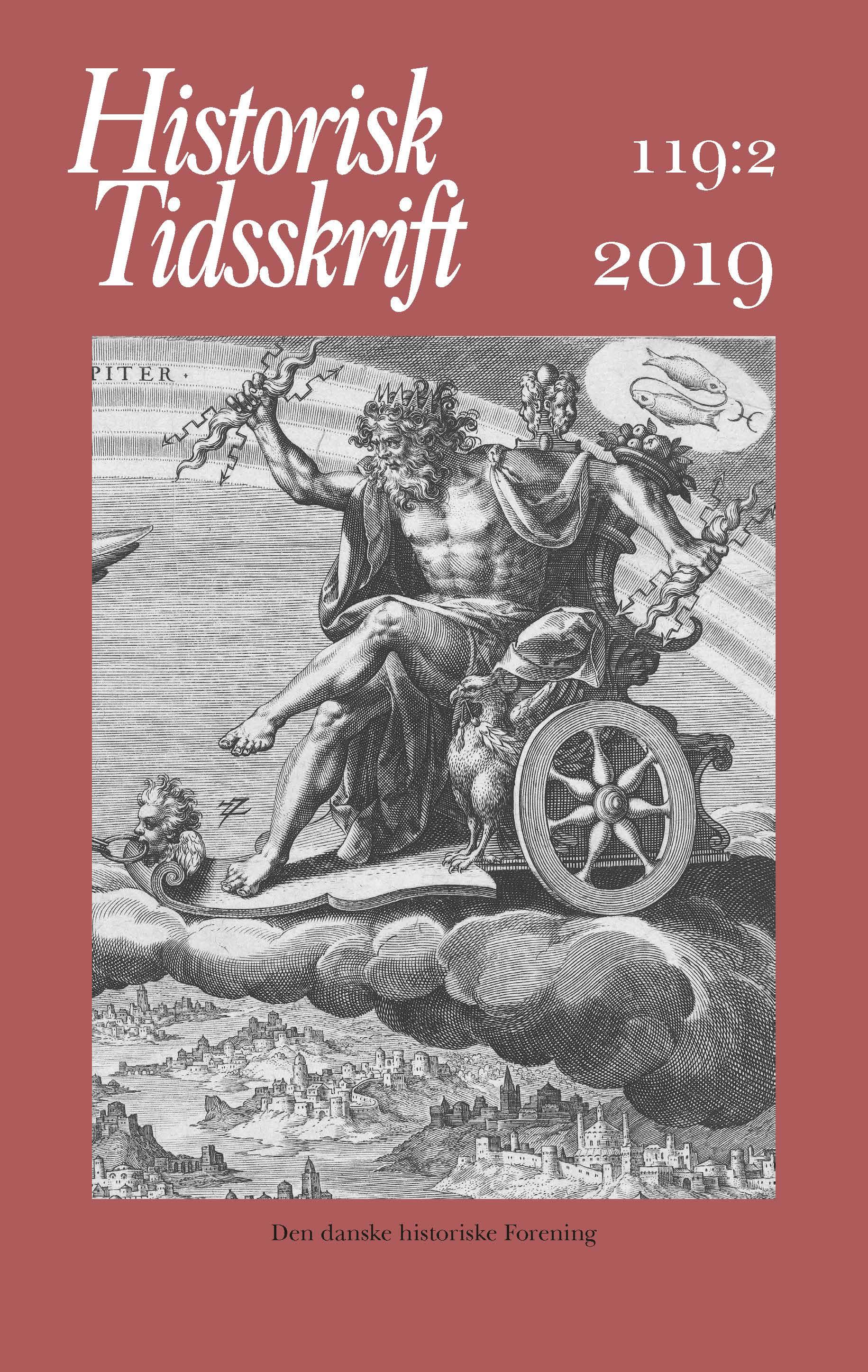 Historisk Tidsskrift Bind 119 Hæfte 2 [forside]