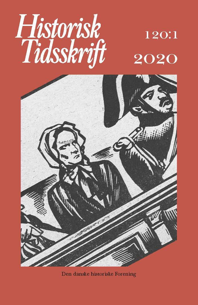 Historisk Tidsskrift Bind 120 Hæfte 1 [forside]