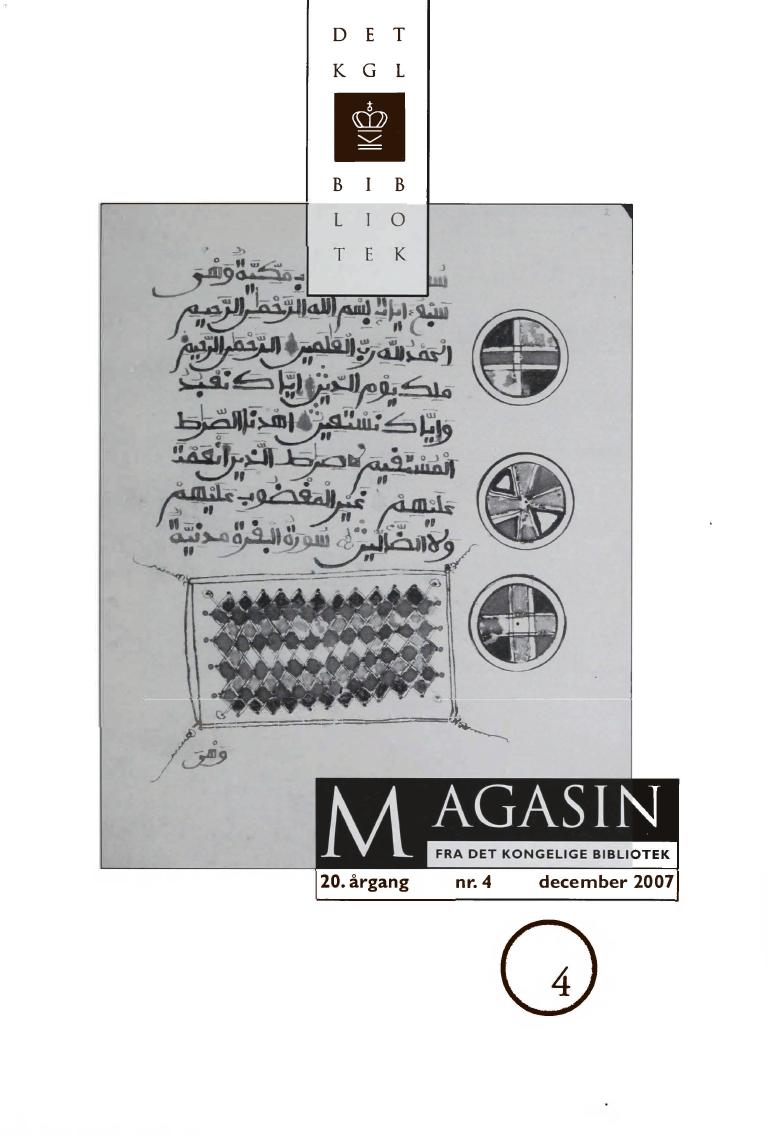 Se Årg. 20 Nr. 4 (2007)