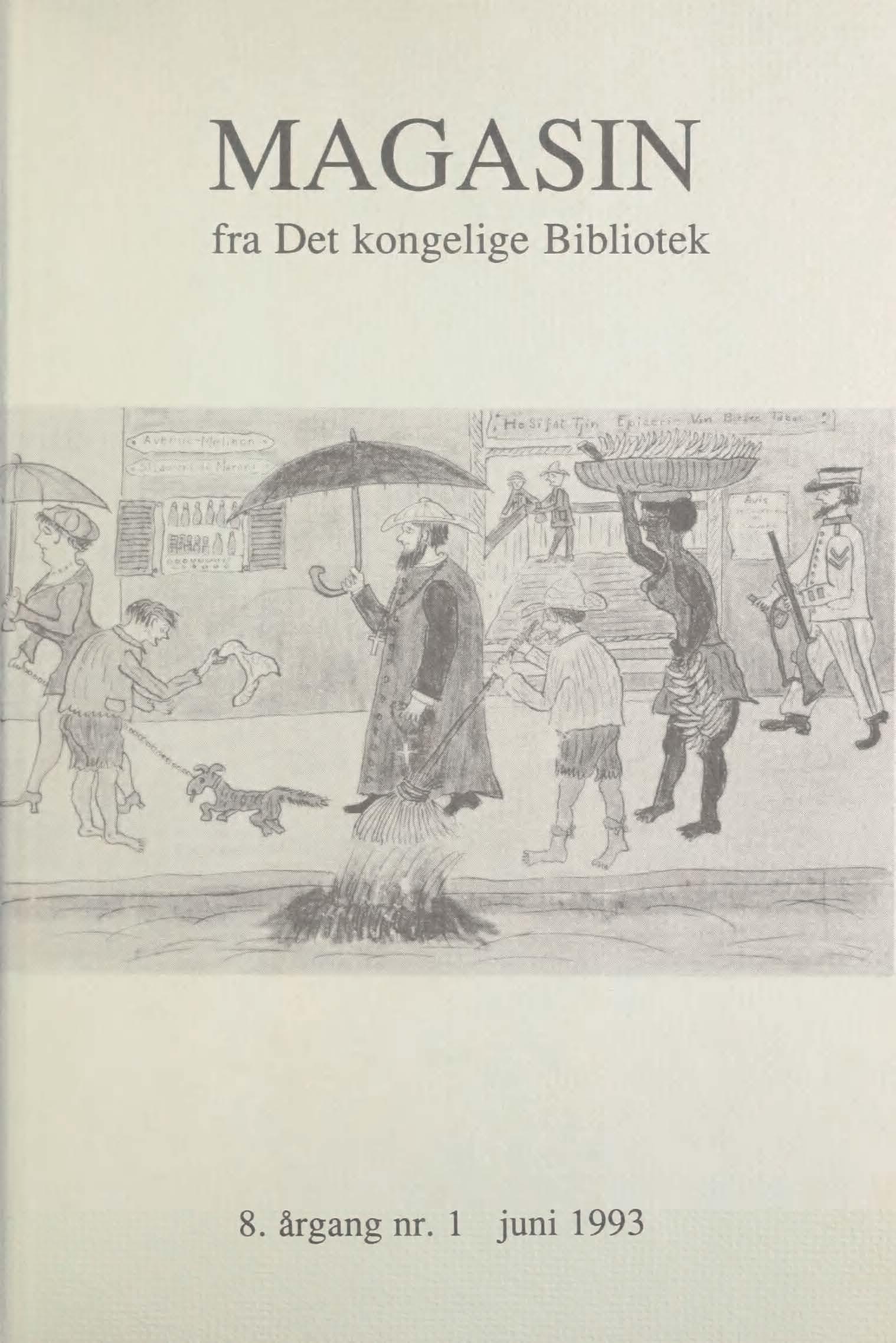 Se Årg. 8 Nr. 1 (1993)