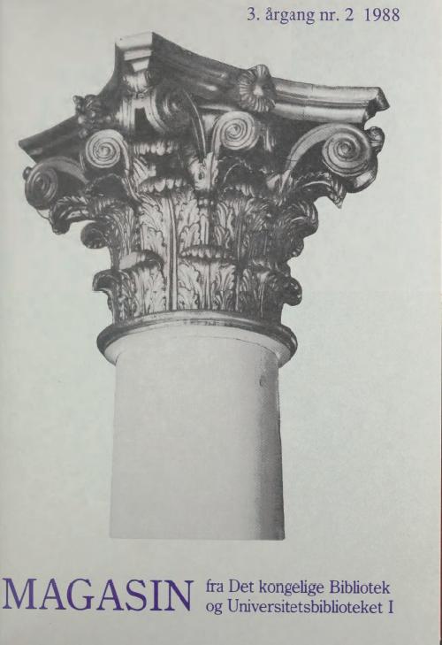 Se Årg. 3 Nr. 2 (1988)