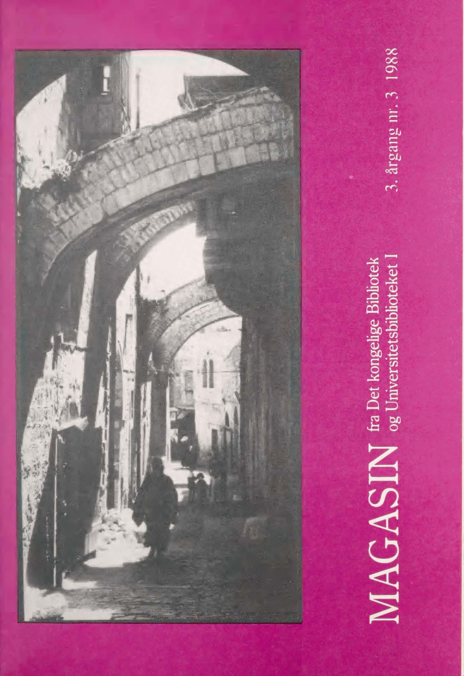 Se Årg. 3 Nr. 3 (1988)