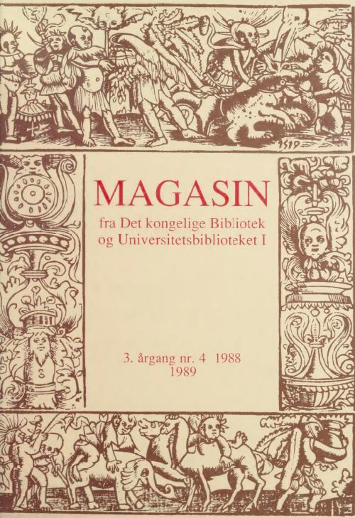 Se Årg. 3 Nr. 4 (1988)