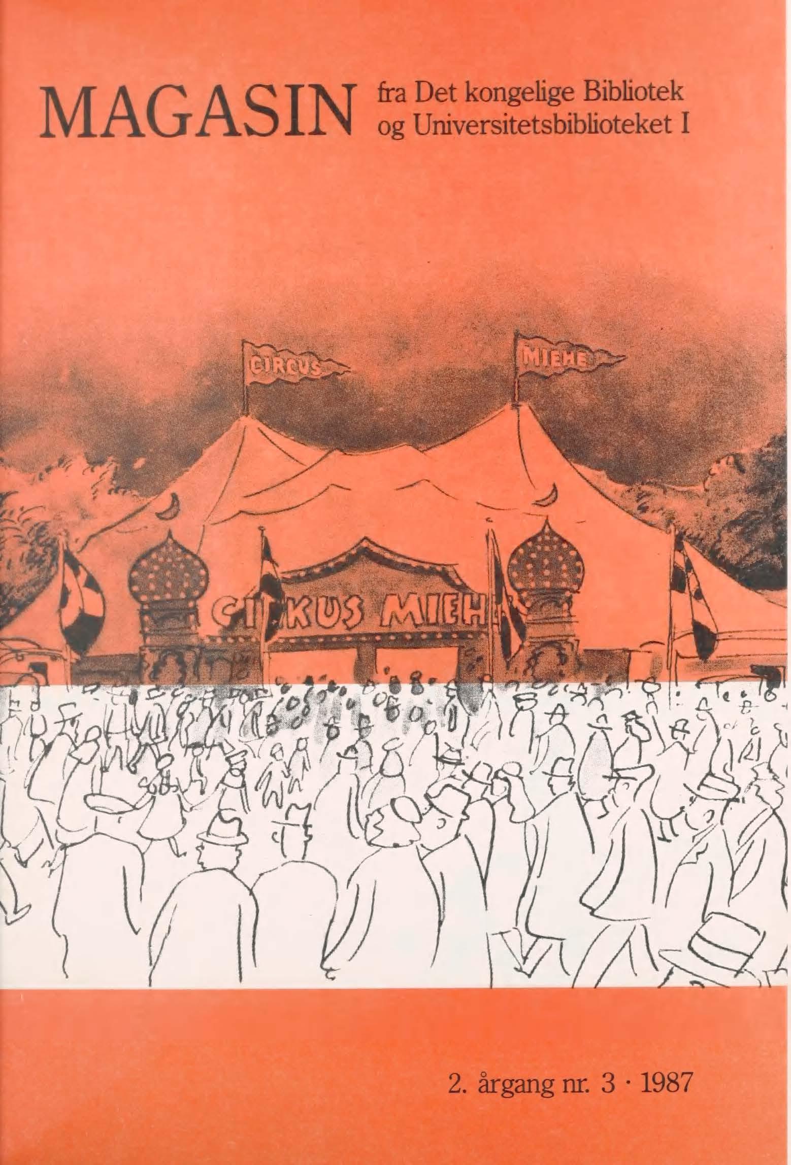 Se Årg. 2 Nr. 3 (1987)