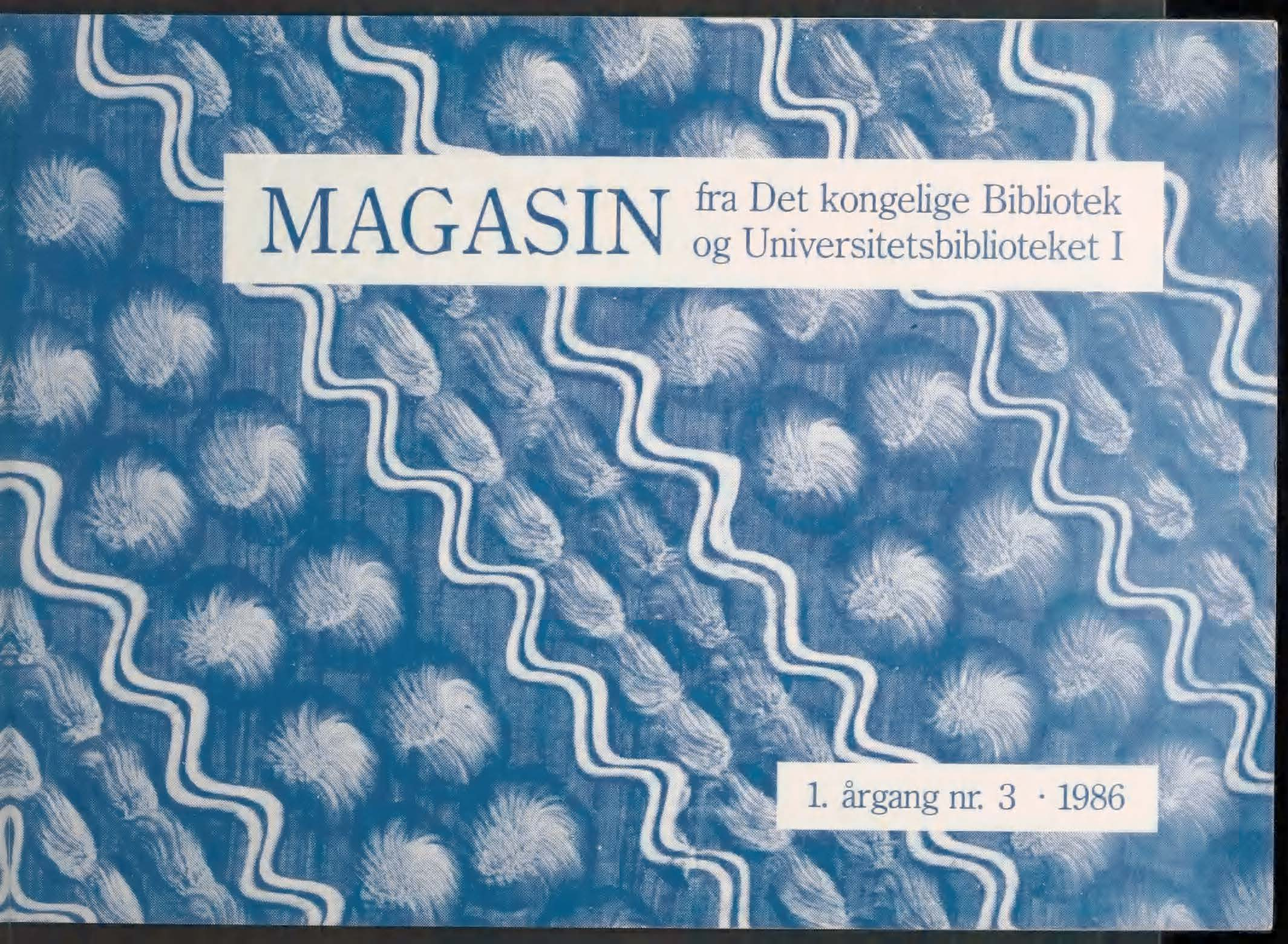 Se Årg. 1 Nr. 3 (1986)