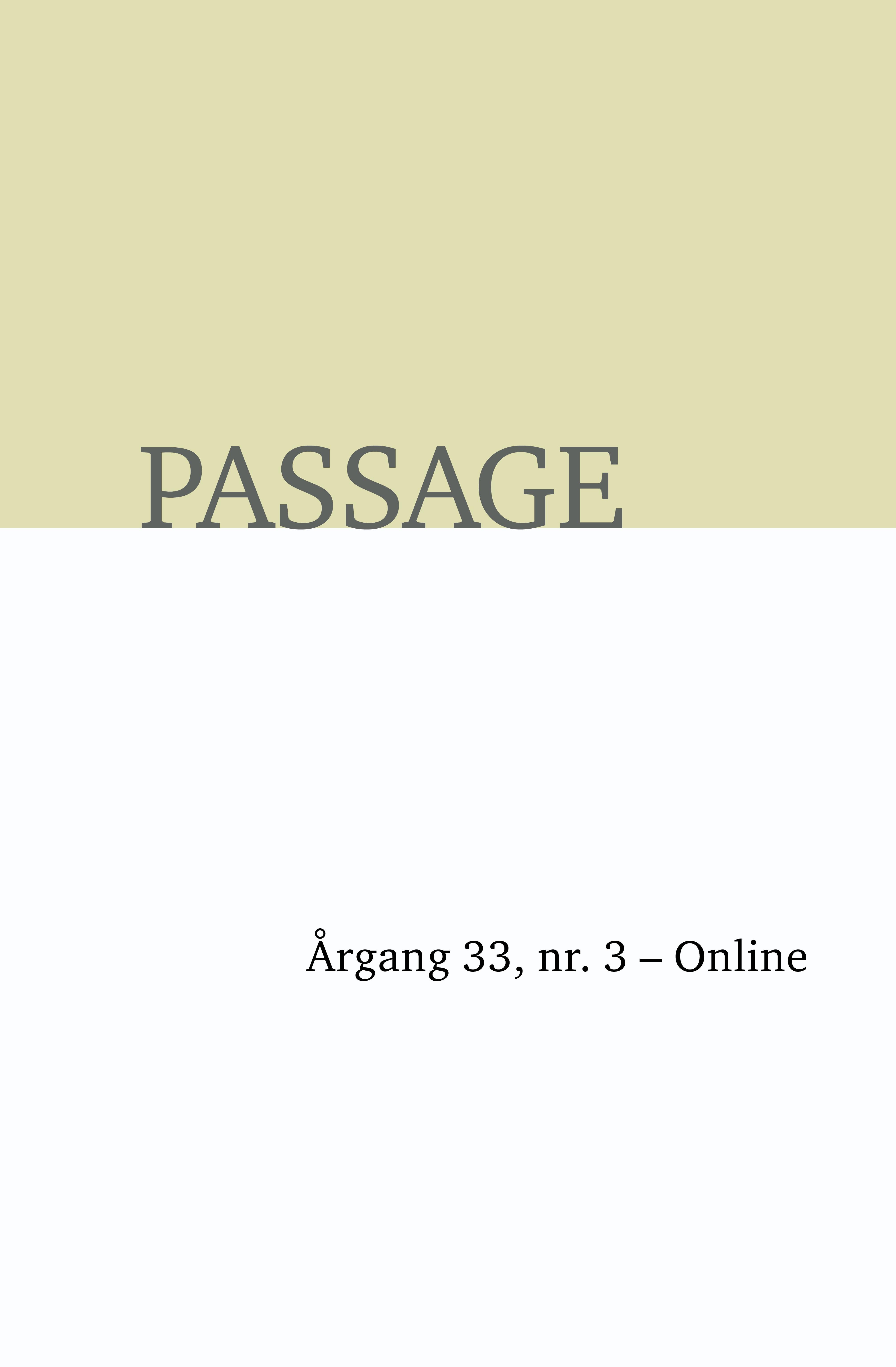 Passage - Online