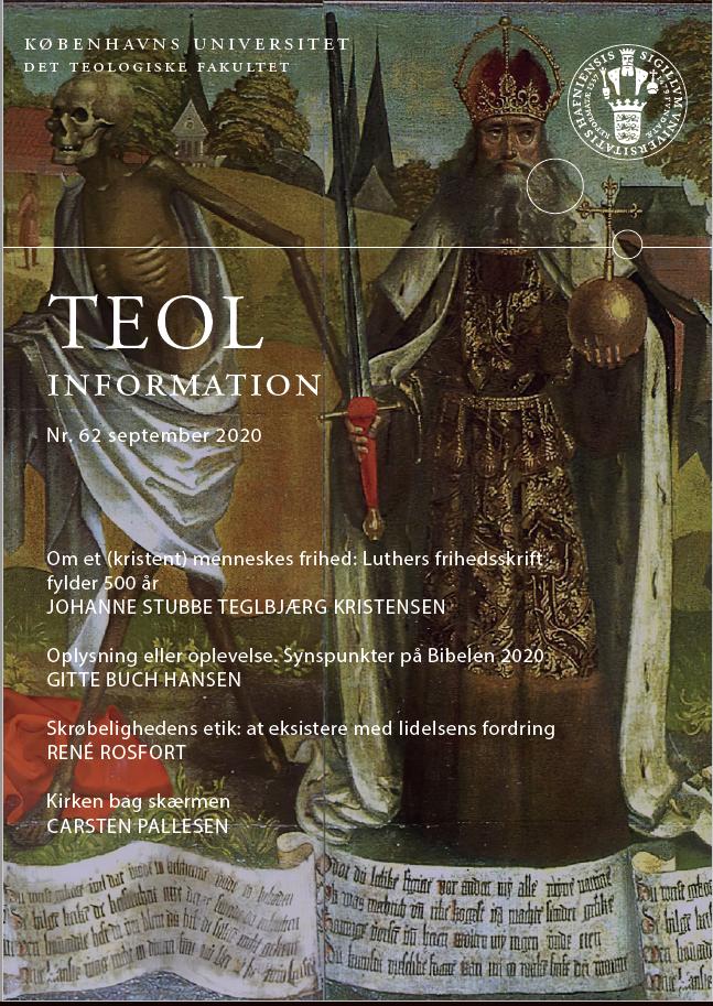 Se Nr. 62 (2020): TEOL-information nr. 62 september 2020
