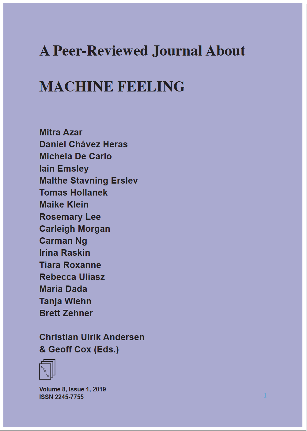 Machine Feeling