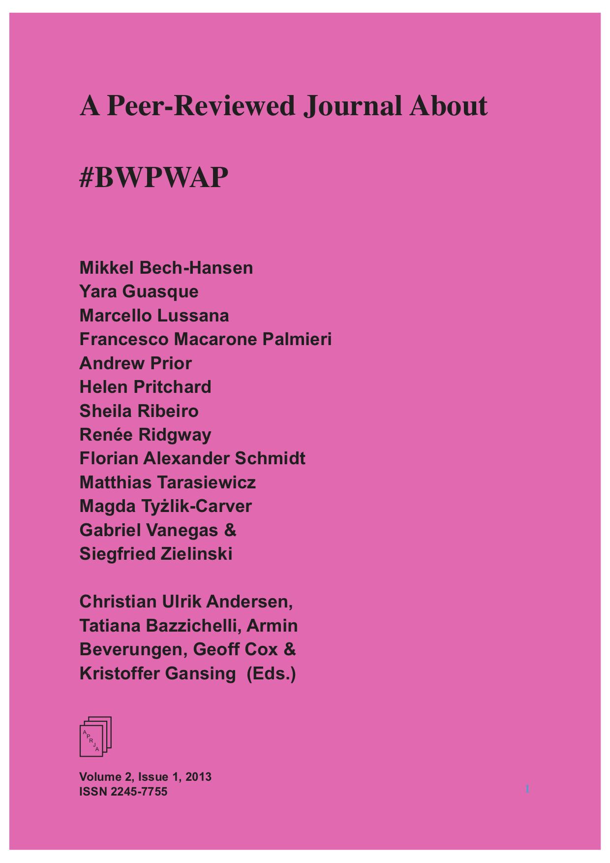 #BWPWAP