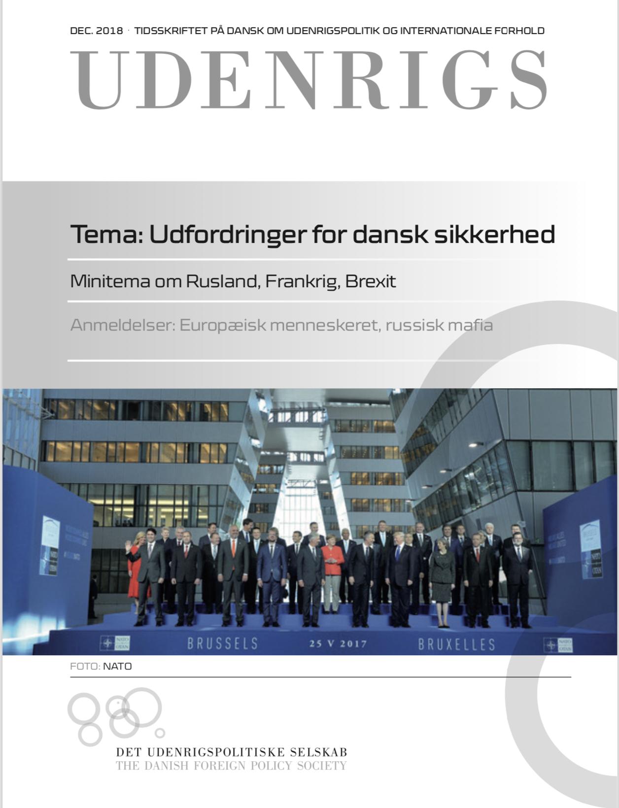 Se Nr. 3 (2018): Udenrigs - Tema: Udfordringer for dansk sikkerhed