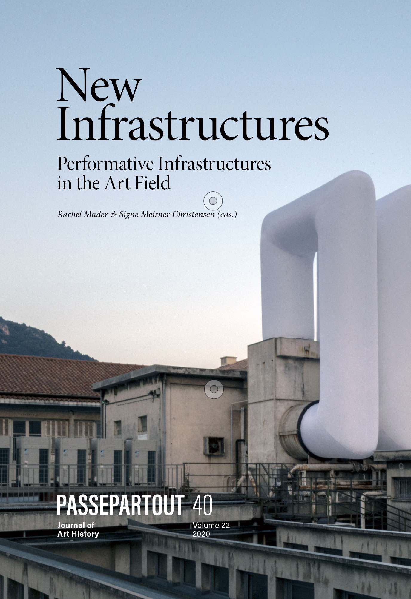 Cover of New Infrastructures—Performative Infrastructures in the Art Field