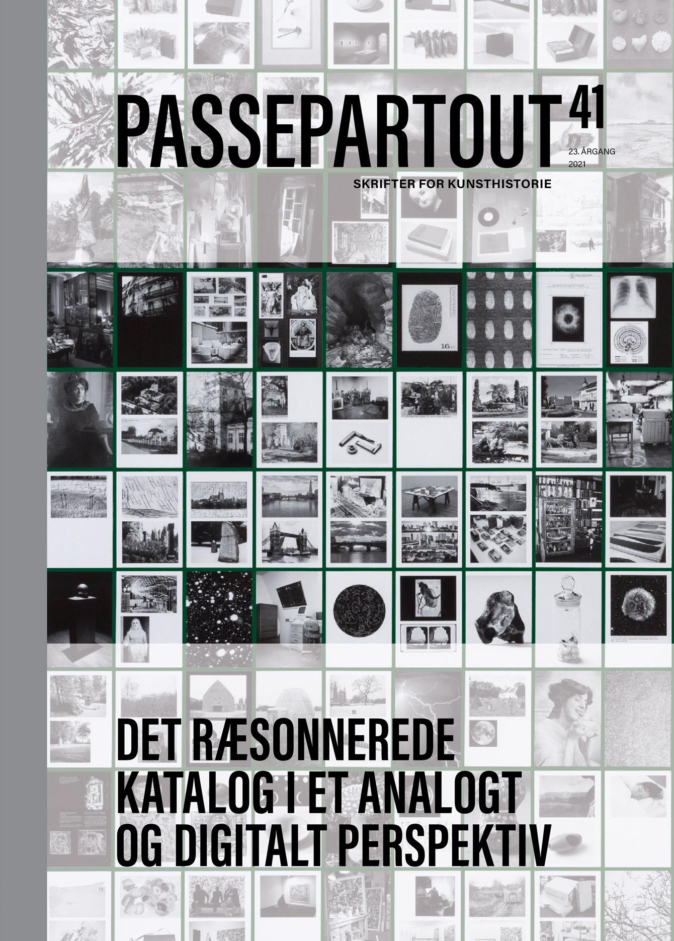 Forsiden af Passepartout 40: New Infrastructures