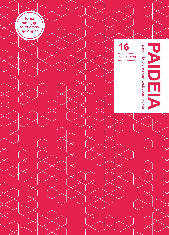 Se Nr. 16 (2018): Paideia - Tidsskrift for professionel pædagogisk praksis