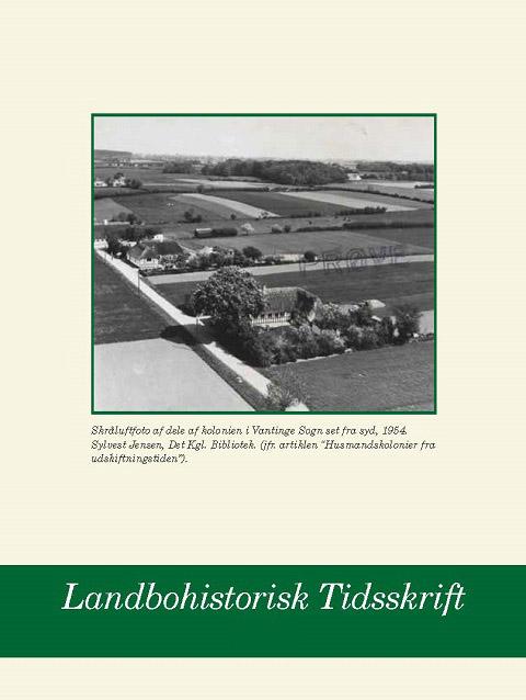 Landbohistorisk Tidsskrift