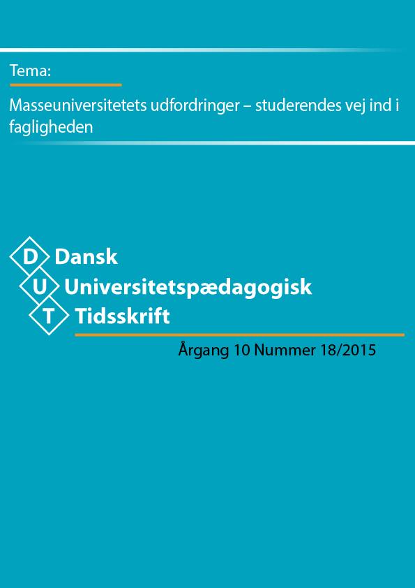 Masseuniversitetets udfordringer – de studerendes vej ind i fagligheden