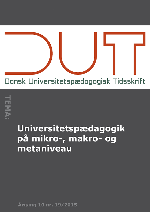Universitetspædagogik på mikro-, makro- og metaniveau