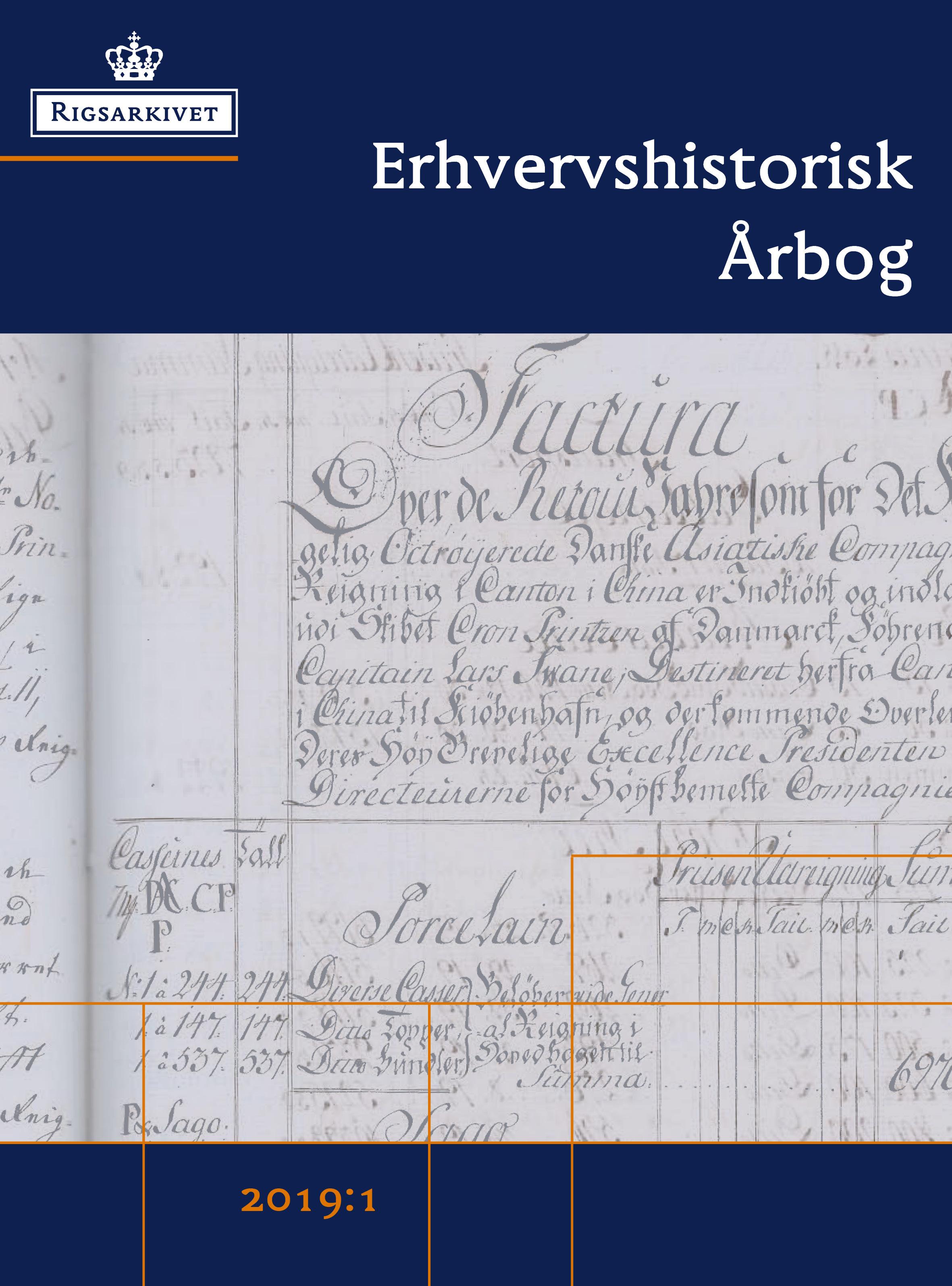 Se Årg. 68 Nr. 1 (2019): Erhvervshistorisk Årbog 2019, 1