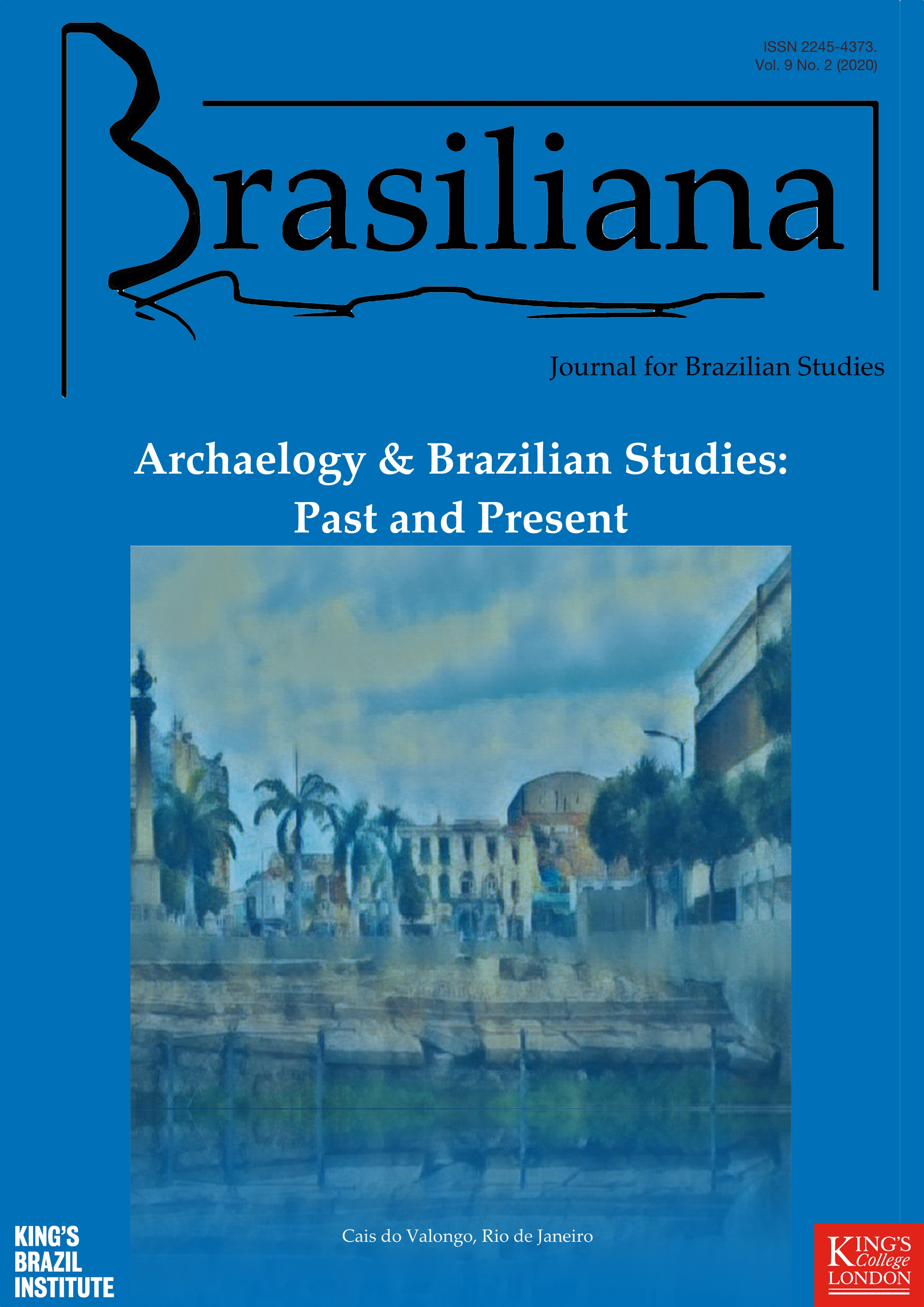 Cover of volume 9, number 2, published in late 2020